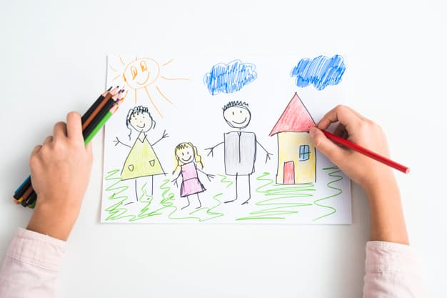 Drawing of a child symbolizing Health Insurance Quotes.